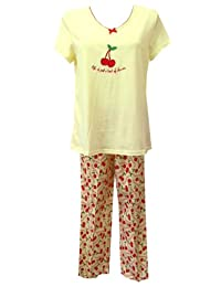 Life Is Just A Bowl Of Cherries Pajama for women (Small)