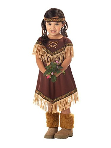 Lil' Indian Princess Girl's Costume, Medium, One (Toddler Indian Costumes)