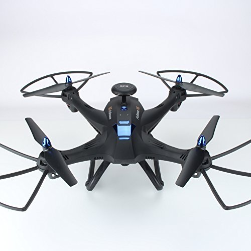 sea jump Remote Control Drone X183 6-Axis Gyro dual-GPS Headlessmode 0.3MP WIFI Quadcopter helicopter