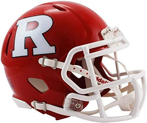 Sports Memorabilia Riddell Rutgers Scarlet Knights Revolution Speed Mini Football Helmet - College Mini Helmets