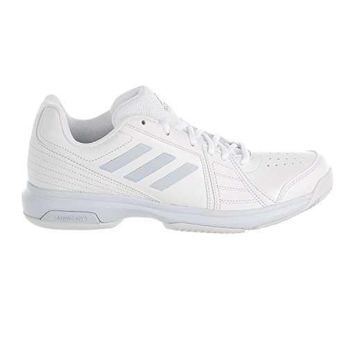 adidas Women's Aspire Tennis Shoe, White/Aero Blue/White, 8.5 M US