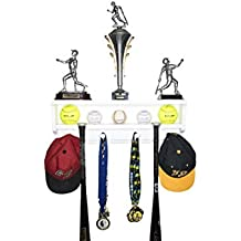 Premier Baseball / Softball Accessory Display Rack and Trophy Shelf