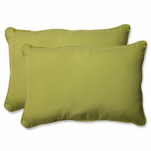 Pillow Perfect Outdoor/Indoor Fresco Pear Over-Sized Rectang