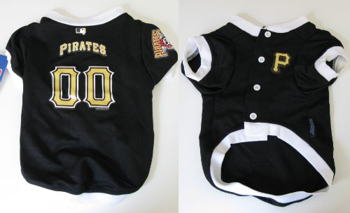 Hunter MFG Pittsburgh Pirates Dog Jersey, Small, My Pet Supplies
