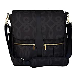 jj cole backpack diaper bag black and gold baby. Black Bedroom Furniture Sets. Home Design Ideas