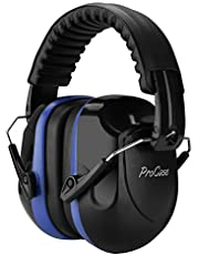 ProCase Noise Reduction Ear Muffs, NRR 28dB Shooters Hearing Protection Headphones Headset, Professional Noise Cancelling Ear Defenders for Construction Work Shooting Range Hunting