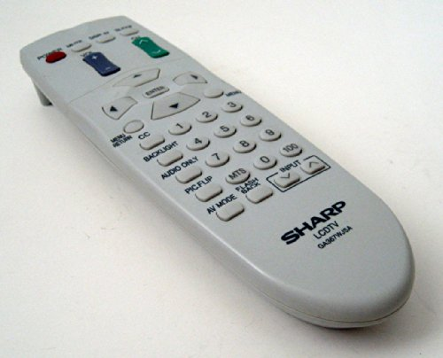 Sharp LCDTV GA367WJSA Remote Control (Control Sharp Lcdtv Remote)