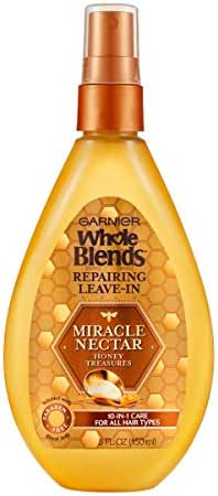 Garnier Hair Care Whole Blends Leave-in Miracle Nectar Honey Treasures Leave-In Treatment, 5 Fl Oz