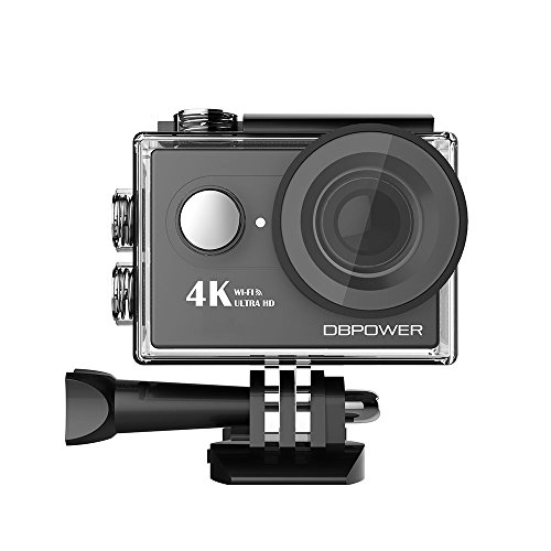 "DBPOWER 4K Sports Action Camera, 16MP Underwater WIFI DV Camcorder 170° Ultra Wide-Angle Len with 2.0"" LCD Screen and Accessory Kit Action Cameras DBPOWER"