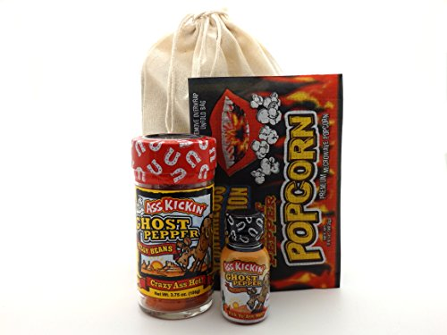 Spicy Ghost Pepper Sweet Heat Gift Set - Jellybeans Popcorn