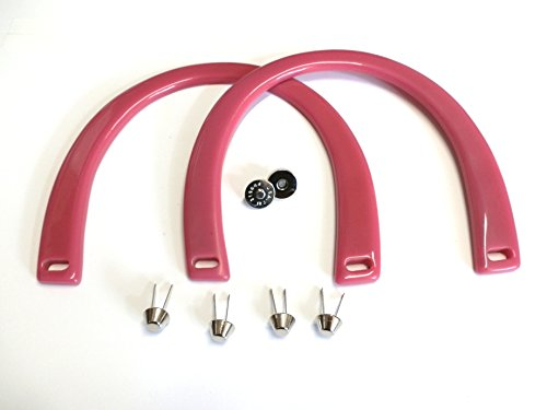 Large Plastic Horseshoe Handles 2 Per Pack and Hardware 7.5