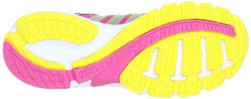 adidas Performance Duramo 5 K - Zapatillas de correr de material sintético infantil rosa - Pink (RAY PINK F13 / METALLIC SILVER / URBAN SKY F12)