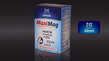 MaxiMag by Zdrovit- Mg+B6- Magnesium Complex- High Quality Product- Increased