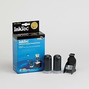 Recarga InkTec para cartuchos HP nº 301 y 301XL NEGRO PIGMENTADO, 20ml x 2