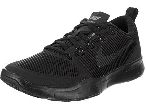 NIKE Men's Free Train Versatility Black/Black Training Shoe 6 Men US Review