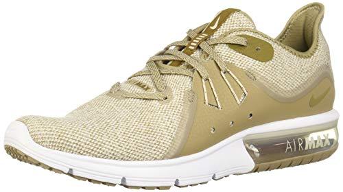 Nike Men's Air Max Sequent 3 Running Shoe Desert Sand/Lichen Brown/Khaki/White Size 10 M US
