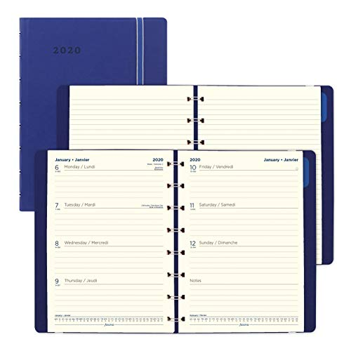 (Filofax 2020 Weekly Planner, Blue, 8.25 x 5.81 inches (C1851402-20))