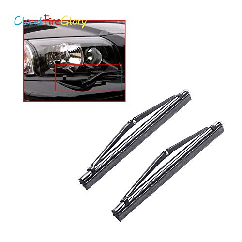 Occus Wipers Cloudfireglory 274431 2Pcs Headlight Headlamp Wiper Blade Left Right Replace for Volvo 960 S90 V90 1997 1998 S80 1999 2004 2006