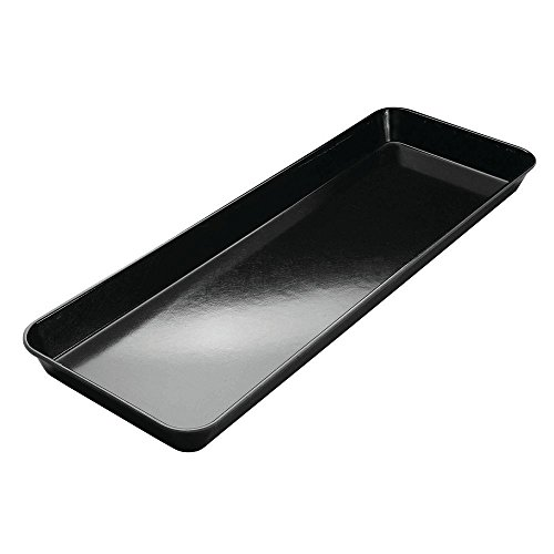 HUBERT Bakery Tray Meat Tray Market Tray In Black Fiberglass - 30