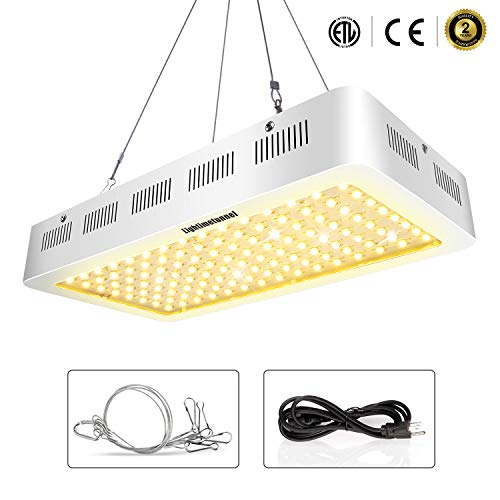 $145.90 1200w Led Grow Light,Lightimetunnel Full Spectrum Growing Lamp for Indoor Hydroponic Greenhouse Veg Flower Plants from Seeding Bloom Harvest 2019