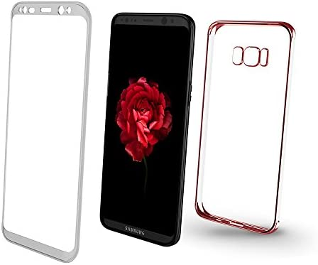 XUNDD Funda Samsung Galaxy S8 Plus, Carcasa PC Dura y TPU Gel Silicona Suave Flexible Tapa Anti-rasguños Transparente Case Cover para Samsung Galaxy ...