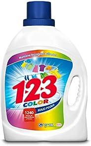 123 Maxi Poder Color, 4.65 litros, Blanco