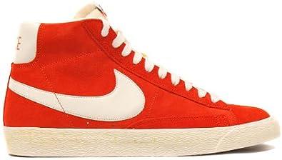 Amazon.com | Nike Blazer Hi Suede VNTG Spice Sail Retro ...