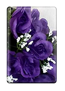 Purple Flowers Case Compatible With Ipad Mini/mini 2/ Hot Protection Case