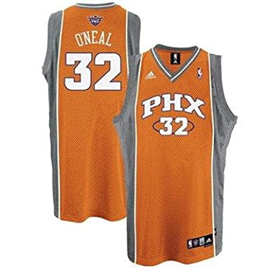 1db119509 Amazon.com  Shaquille O Neal Phoenix Suns 2nd Road Authentic NBA Jersey  Size 52   XL  Clothing