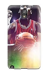 New Style nba michael jordan chicago bulls jordan NBA Sports & Colleges colorful Note 3 cases 9170244K465205807