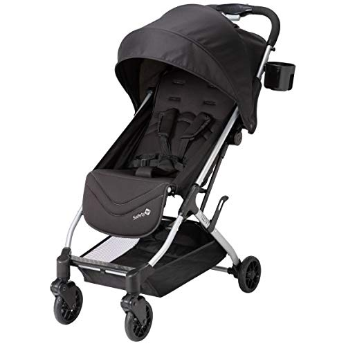 Safety 1st Teeny Ultra Compact Stroller, Black Magic