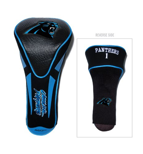 NFL Carolina Panthers Single Apex Driver Head Cover