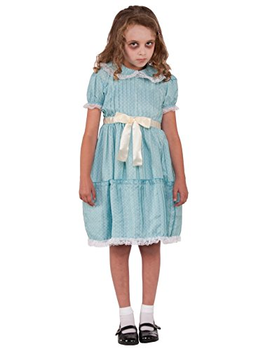 Forum Novelties Kids Creepy Sister Costume, Multicolor, Large -