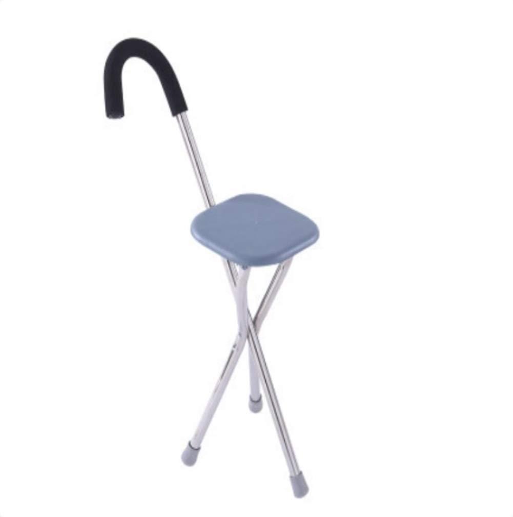 Amazon.com: FOTEE - Bastón de paseo con asiento, plegable ...