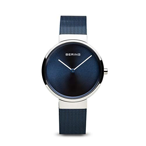 BERING Time 14531-307 Womens Classic Collection Watch with Mesh Band and Scratch Resistant Sapphire Crystal. Designed in Denmark.