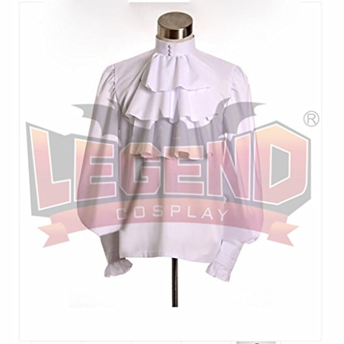1791's lady Men's Pirate Henry Morgan Captain Costume Coat+Hat -XXL by 1791's lady (Image #5)