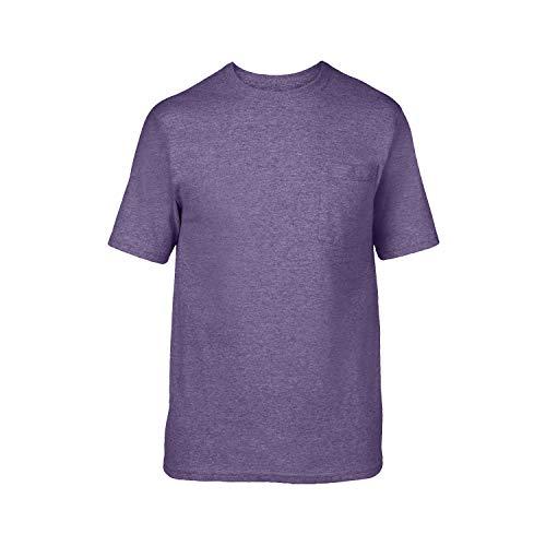 Gold Toe Mens Heathered Pocket Crew Neck Sleep T-Shirt X-Large Indigo Blue