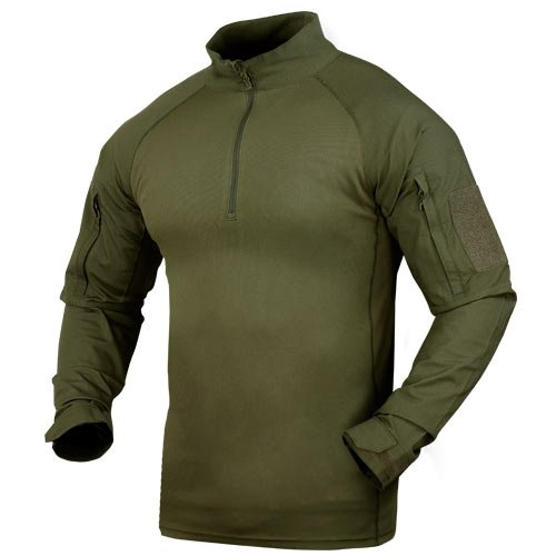 Condor Outdoor Combat Shirt, Color Olive Drab,Green Size M