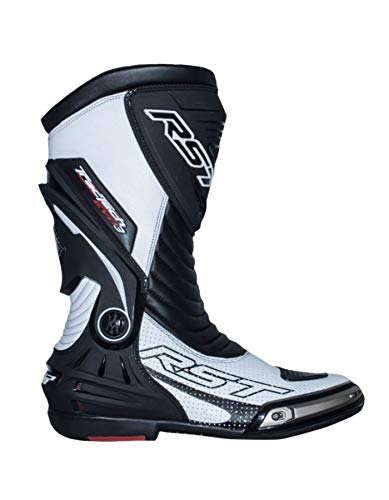 Motorcycle Rst - RST 2101 TracTech Evo III Sport CE Unisex Motorcycle Boots - White 11 46