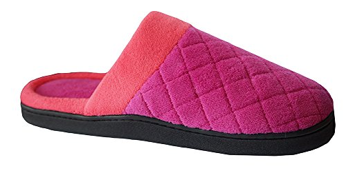 5 Microterry Very ISOTONER Women's Clog Berry 6 Slipper 7 Maddie gwx8Zx5aq