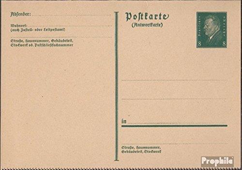German Empire P197II Official Postcard 1931 Ebert (documents philatelic covers for collectors) - 1931 Postcard