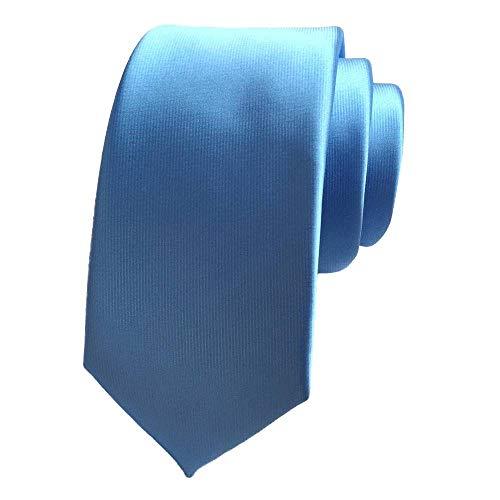 Sky Formal Wedding Suits Dress Blue Silk Solid COMVIP Men's Tie Business Necktie vwntFx1Zq