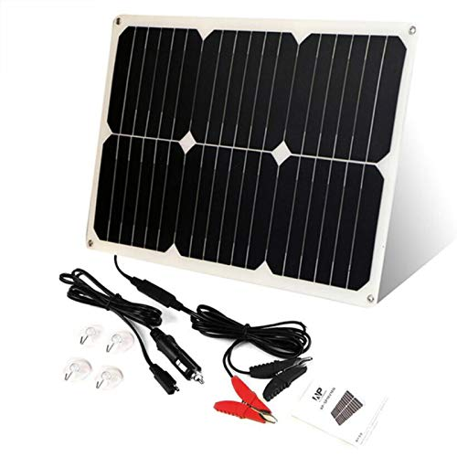 Kungfu Mall 12V 18W Portable Solar Battery Car Charger For Car Battery Automobile Motorcycle Boat: