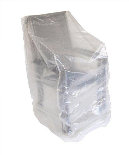 Abdeckhaube für Stapelstühle, 66x66x120/150cm, transparent