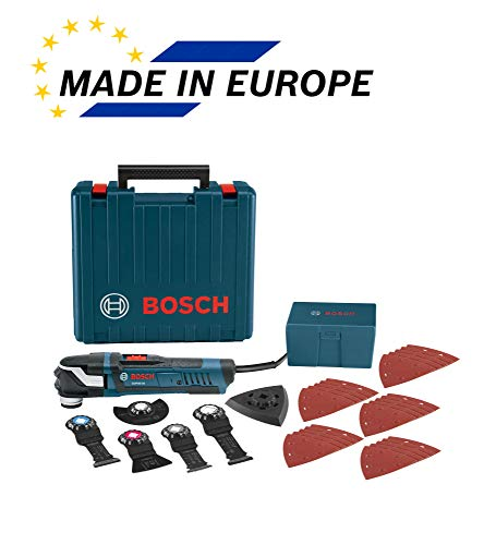 Bosch Power Tools Oscillating Saw - GOP40-30C - StarlockPlus 4.0 Amp Oscillating MultiTool Kit Oscillating Tool Kit Has No-touch Blade-Change System
