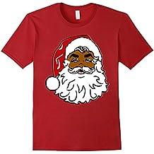 African American Santa Claus Christmas T-shirt