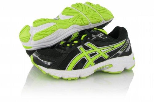 Asics - Zapatillas de running de sintético para hombre Blanco Blanco negro - negro