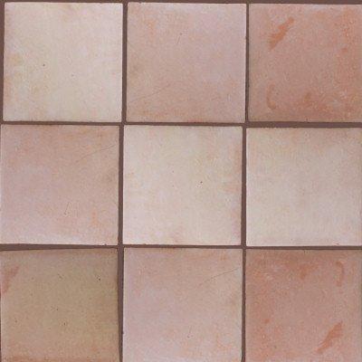(Fine Crafts Imports 4 pcs Square 12 Clay Saltillo Tile)