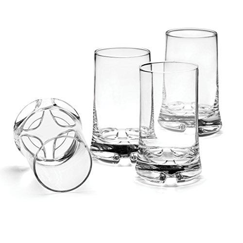 Dansk Dansk Kobenstyle DOF Glasses, Set of 4, Clear ()