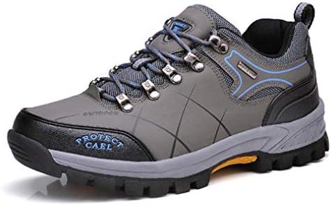 トレッキングシューズ メンズ ウォーキングシューズ 大きいサイズ 登山靴 厚底 アウトドアシューズ 防水 防滑 軽量 ローカット スニーカー 幅広 衝撃緩和 耐摩耗性 ハイキングシューズ スポーツ 抗菌防臭 山登り 作業靴